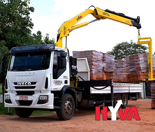 AMG Vial: HYVA. Maquinaria de logística